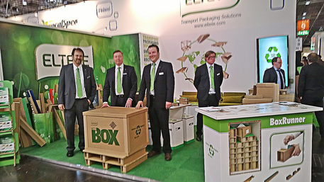Eltete dans le salon d'emballage Interpack 2014